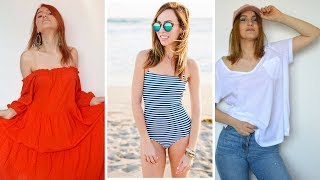 Stylish new plus size fashion weekend  -  Simple but Shine latest summer fashion style