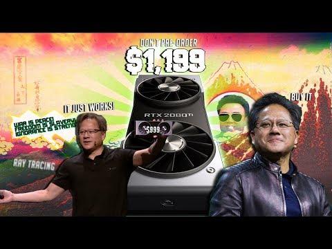 Let's Complain: Nvidia's RTX 2080 Ti Keynote at Gamescom