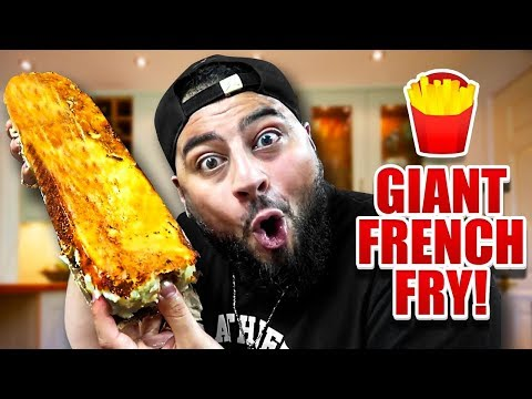DIY GIANT FRENCH FRY!! (WORLD RECORD)