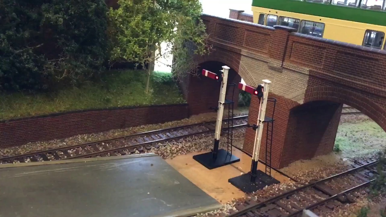 Model Trains 56 Controlling Dapol Semaphore Signals Using Train Railroad Dcc Wiring How To Build A Layouts G Z S Tech Control