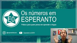 Contando até 19 em Esperanto | Esperanto do ZERO!