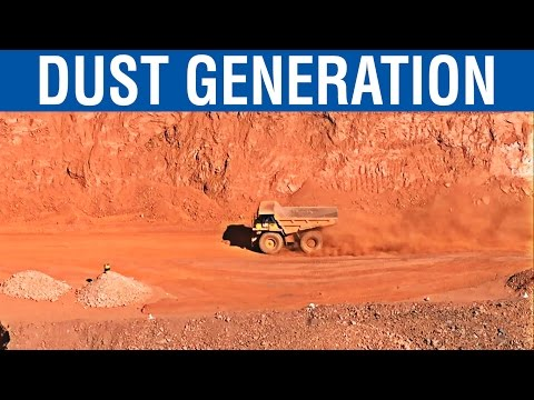 Dust Generation During Dumper Movement | Iron Ore Mine