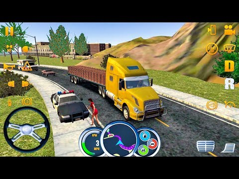 Truck Simulator USA #22 BUGS! - Truck Games Android IOS Gameplay