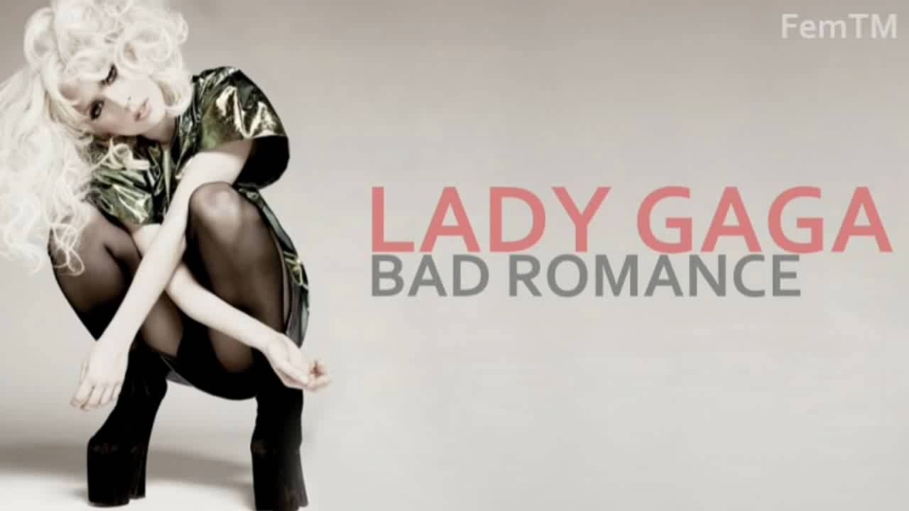 lady gaga bad romance album - photo #13