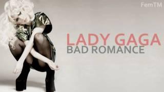 Lady Gaga - Bad Romance ( Instrumental + Backgroundvocals )