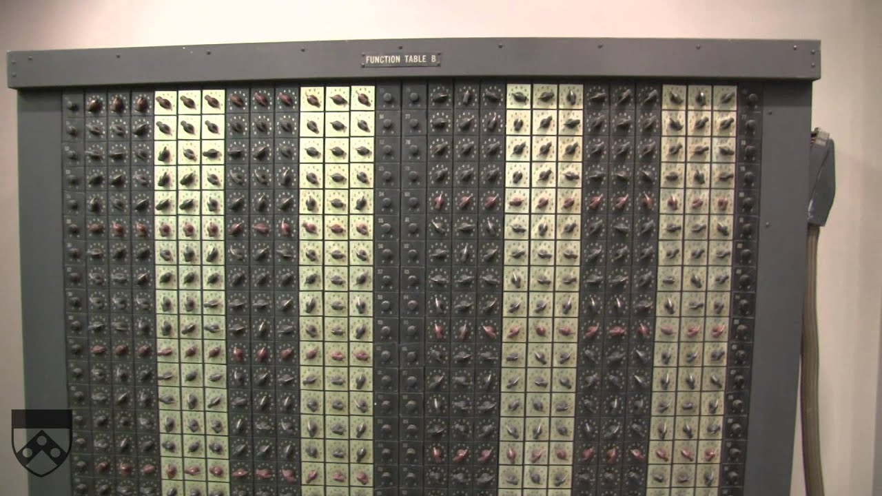 ENIAC: The First Computer - YouTube