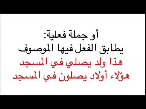 Arapça Gramer Dersleri-36 Sıfatın Çeşitleri