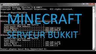 TUTO - Comment créer un serveur Minecraft Craftbukkit 1.7.2/1.7.4 + Ouverture des ports