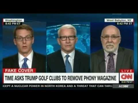Time Magazine asks Trump Golf Clubs to remove phony magazine