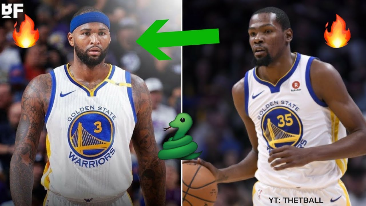 hot sale online 6c836 bdf37 How DeMarcus Cousins Fits With the Golden State Warriors | Teams Up With  Steph Curry & Kevin Durant