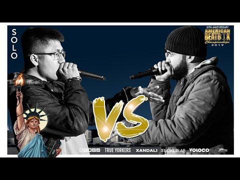 Rayul Vs Hunty | Solo Top 4 Battle | ABCX | American Beatbox Championships 2019