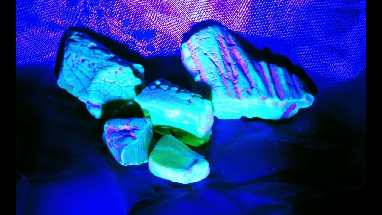 Сперма под ультрофиолетовым светом