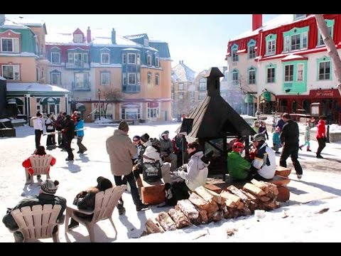 Mont Tremblant in winter