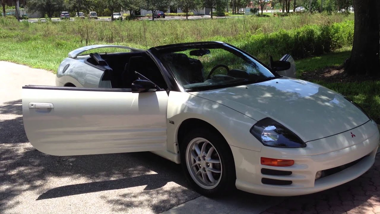 2001 mitsubishi eclipse spyder gt view our current inventory at fortmyerswacom youtube