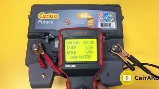 Centra Futura CA601 60 Ач тест