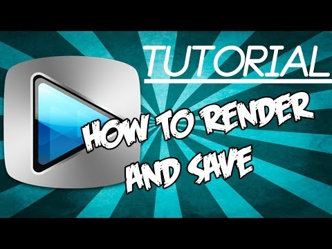 How to Render/Save a video in Sony Vegas Pro 12/13. 2017