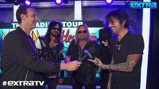 Mötley Crüe Plans to 'Sleep for Six Months' Before 2020 Stadium Tour