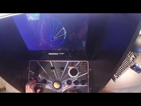 Arcade1Up Atari Legacy Spinner Demonstration from Robert Havens