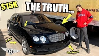 Our $15,000 Budget Bentley IS BACK AFTER 1 YEAR! (Runs & Drives)