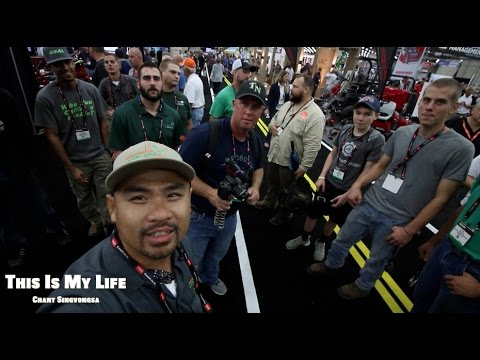 GIE EXPO 2016 Day 2, Meet up with Top Notch Lawn Care, Fall River Lawn Care, Lawn Care Rookie Part 1