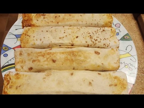 How to Make Mexican Burritos