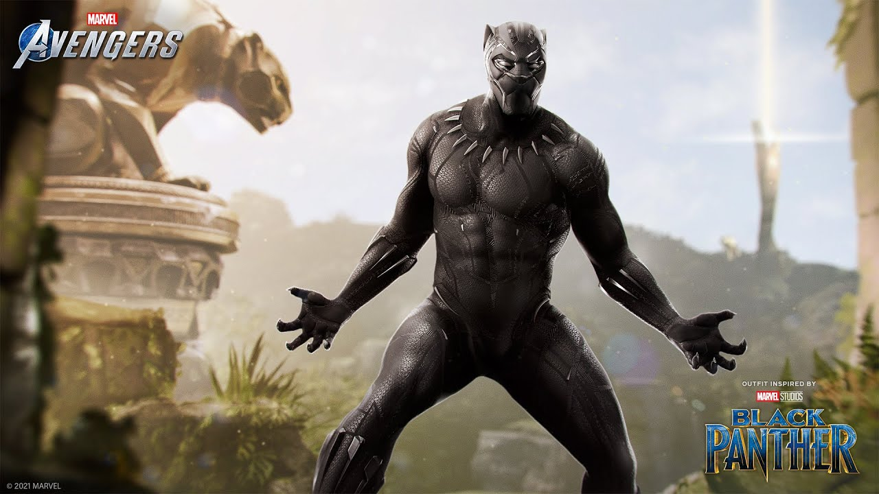 """Marvel's Avengers - Black Panther's """"Marvel Studios' Black Panther"""" Outfit"""