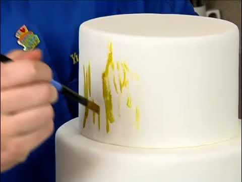 Learn To Make A Camo Smear Hunting Cake! Decorating How-to Video Tutorial Part 2