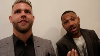 WE'RE BREAKING NECKS & CASHING CHEQUES! -BILLY JOE SAUNDERS & BROOK GO IN ON CANELO & CHARLO TWINS