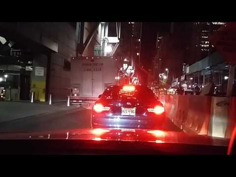 Driving through Holland Tunnel from Nj - Ny