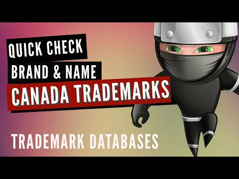 CIPO Canada Trademark Search: Quick name search at the free canadian trademark database