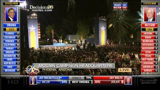 Election 2008 - John Mccain Concession Speech