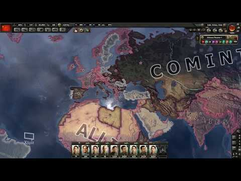 Keres Plays: HEARTS OF IRON IV, Ep 14 - The Sino-Soviet War