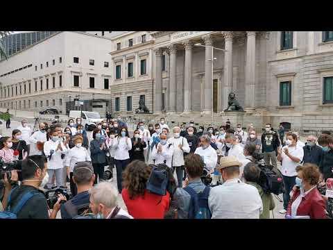 Protesta de la hotelería: minuto de silencio