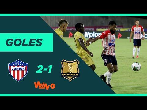 Junior vs. Águilas Doradas (2-1) Liga BetPlay Dimayor 2020 | Fecha 9