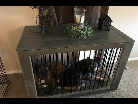 DIY CUSTOM DOG KENNEL WITH DUAL ENTRY AND ADJUSTABLE SIDES