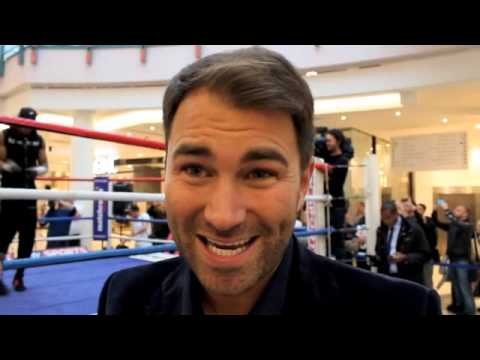 EDDIE HEARN ON ANTHONY JOSHUA, JOSH WARRINGTON, RICKY BURNS, SCOTT QUIGG , AUDLEY & KIMBO SLICE