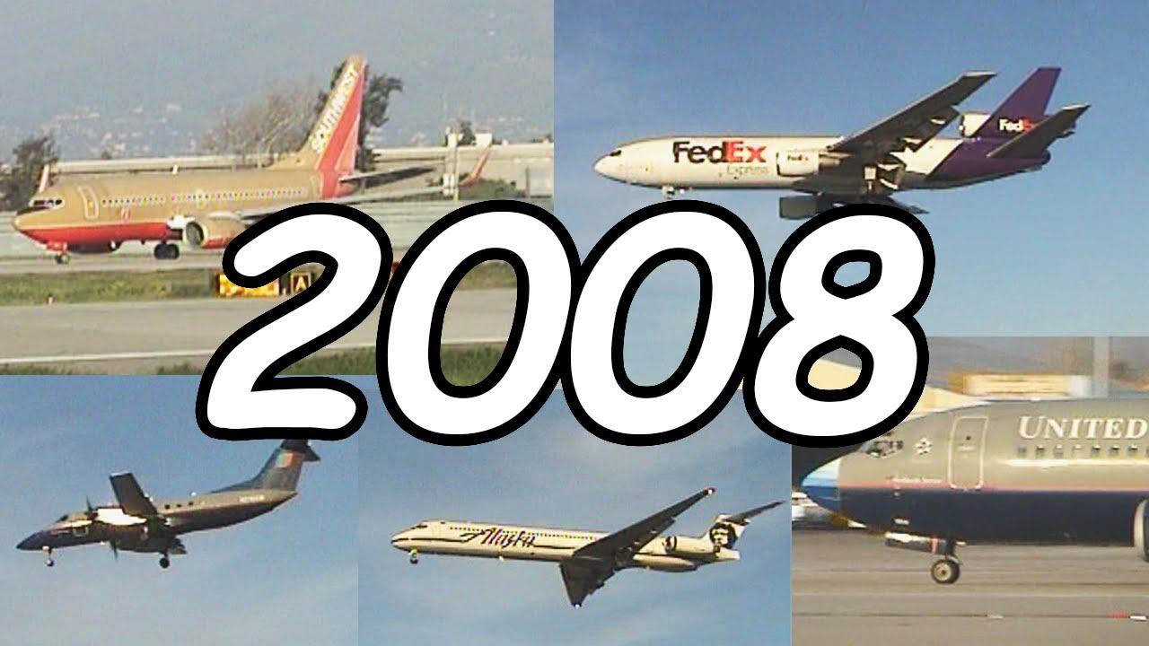 Download 14 Minutes of 2008 San Jose International Airport Plane Spotting