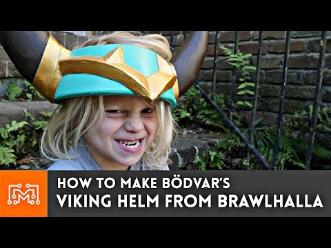 How to make Bödvar's Viking Helm from Brawlhalla