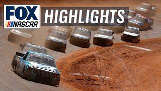 NASCAR Camping World Truck Series Pinty's Truck Race on Dirt at Bristol | NASCAR ON FOX HIGHLIGHTS