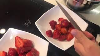 Клубника со Сметаной и с Сахаром / Лучший Десерт под СЕРИАЛ / Правильное питание