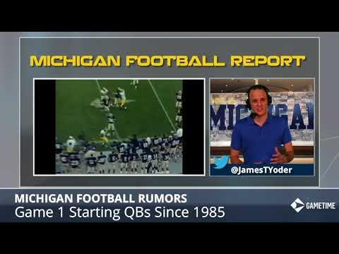 Michigan Football Opening Game Starting QBs: See How Jim Harbaugh, Tom Brady & Denard Robinson Fared