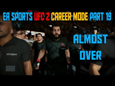 ALMOST OVER (Light Heavyweight PRO DIFFICULTY) | EA Sports UFC 2 Career Mode Gameplay