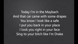 Good Drank - 2 Chainz (ft. Quavo , Gucci Mane) (LYRIC VIDEO!!)