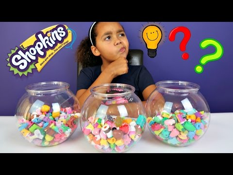 NAME THAT SHOPKIN CHALLENGE! All Seasons Shopkins - Surprise Shopkins Prizes - Toy Opening