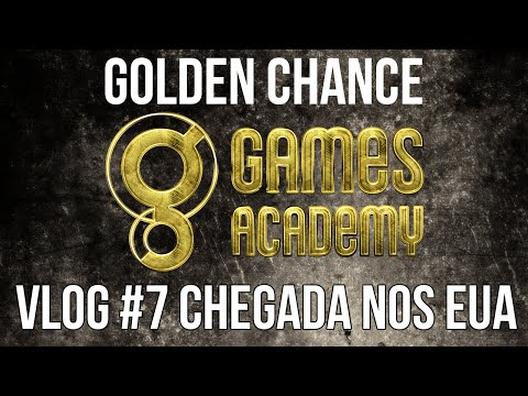 Vlog #7 Golden Chance: Chegada aos EUA! [English CC]