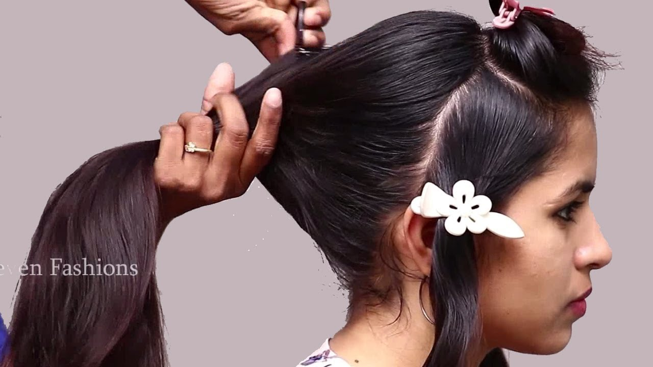 Beautiful Traditional Hairstyles For Festival/wedding
