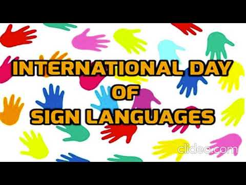 Download International day of the deaf
