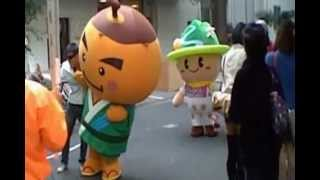 第66回愛大祭 柿丸くんとだんQくん