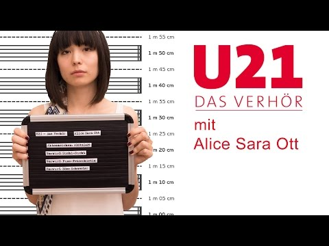 U21 - Das Verhör mit Alice Sara Ott