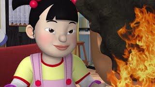 Fireman Sam ❄️The Team stops a House Fire ❄️Fireman Sam Funniest Moments 🔥Kids Cartoons